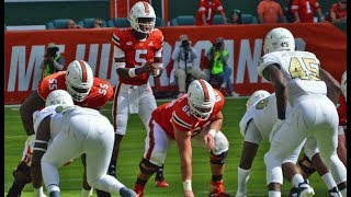 Miami Hurricanes Highlights VS FIU