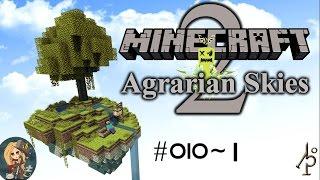 Agrarian Skies 2 #010~1 Pulverizer Minecraft Let's Play Deutsch