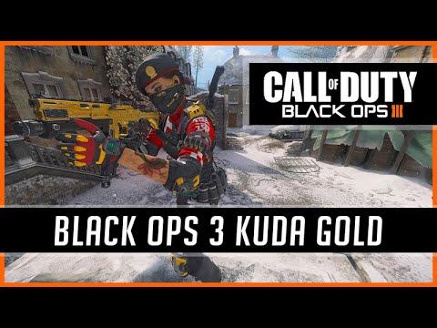Black Ops 3 Kuda Gold