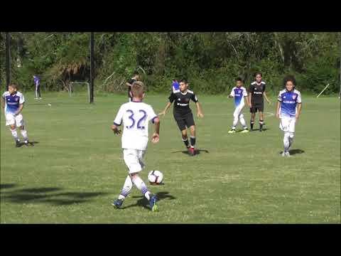 USSDA U14 Texans SC Houston vs. FC Dallas Academy highlights Oct 13 2018.