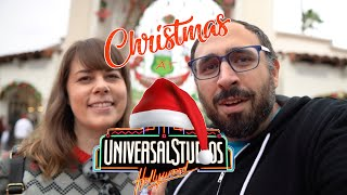 Holiday Magic at Universal Studios Hollywood - Grinchmas and Nighttime Lights at Hogwarts Castle