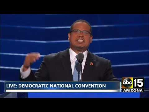 FULL: Rep. Keith Ellison - Democratic National Convention