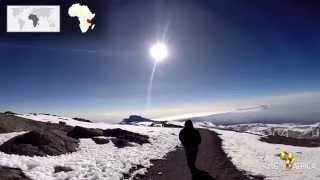 The roof of Africa - Uhuru Peak of Mt Kilimanjaro
