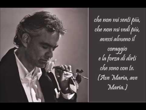 Romanza - Andrea Bocelli - (Lyrics)