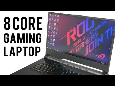 ASUS ROG Strix Scar III G531GW Review - The 8-CORE I9 GAMING LAPTOP!