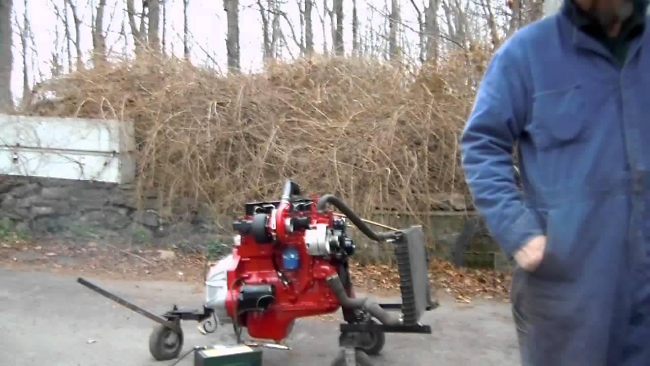 Cummins 4bt 3 9 Liter Turbo Charged Diesel Engine
