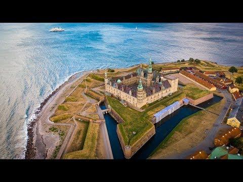 Hamlet's Kronborg Castle - Helsingør / Elsinore -  Denmark - 4K