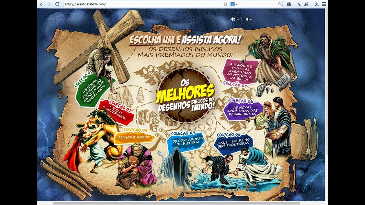 ✔ Lançamento Portal de Desenhos Bíblicos