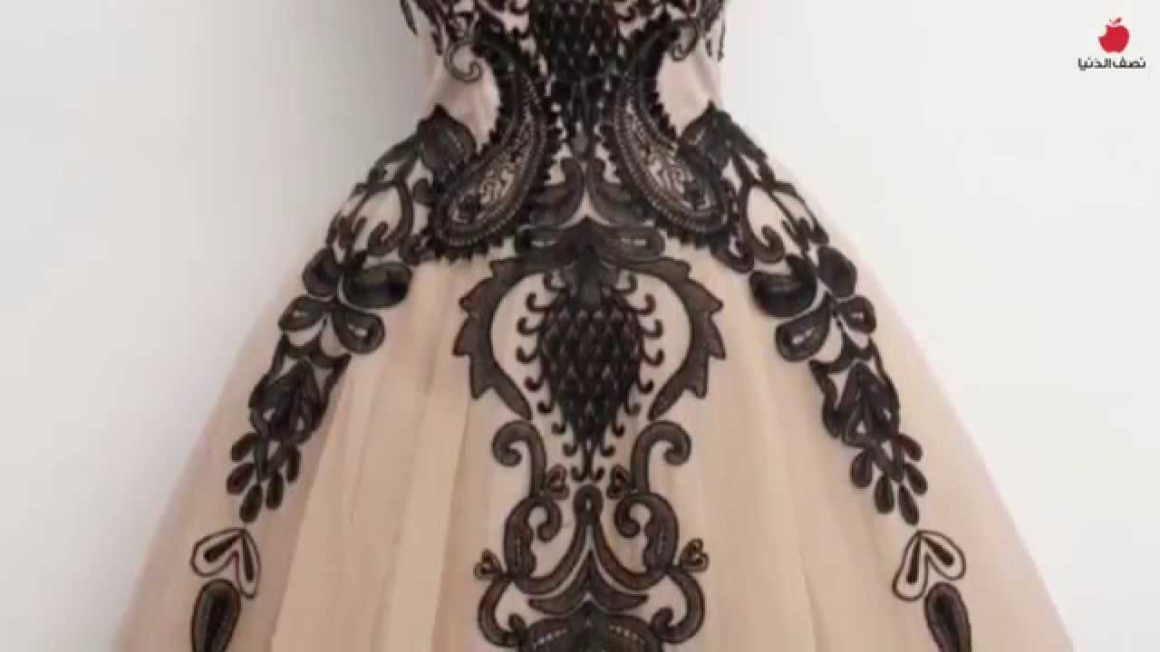 86b446f2f تصاميم لفساتين قصيرة روعة - YouTube