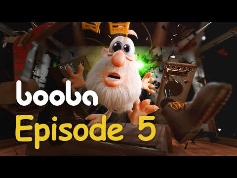 Booba - Game Room - Episode 5 - Cartoon for kids