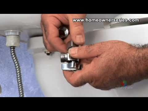 How to Fix a Toilet - Water Supply Valve Replacement - Part 1 of 2 ...