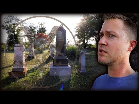HAUNTED by a WITCH! | Round Mound Cemetery | MichaelScot