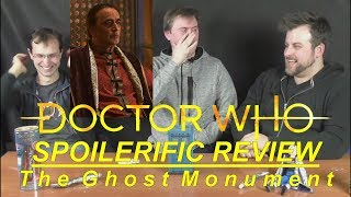 SPOILERIFIC REVIEW: Doctor Who - The Ghost Monument   Votesaxon07