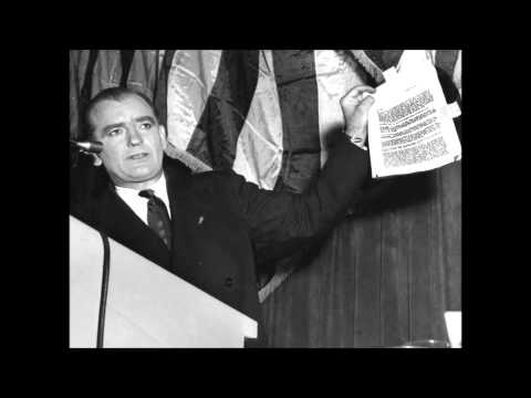 the actions of senator joseph mc carthy during the cold war with the soviet union