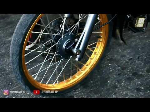 Motor tua wani perih, yamaha 80 adu drag bike di GDS klaten