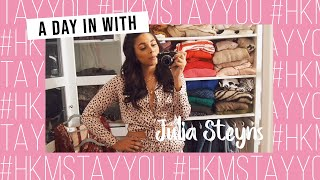 A day in with Julia Steyns | #HKMStayYou