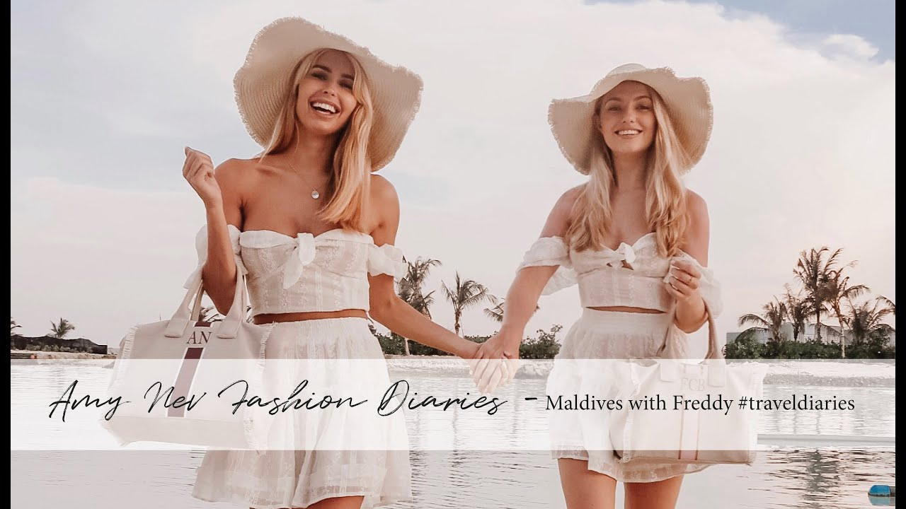GIRLIE TRIP TO THE MALDIVES WITH FREDDY || amynevfashiondiaries