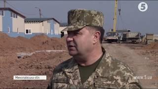 Полторак проінспектував будівництво нового військового полігону