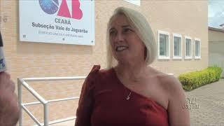 Tânia Maia se diz lisonjeada ao ser empossada conselheira tutelar em Limoeiro do Norte