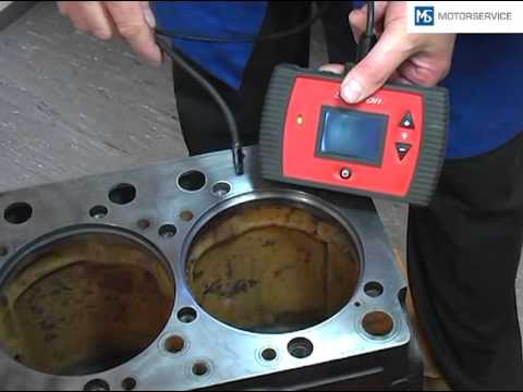 Installation of cylinder liners (EN) - Motorservice Group