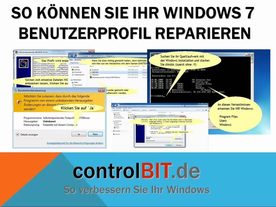 Windows 7 Reparieren
