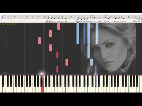 Посвящение женщине - Гвердцители Т.(Ноты и Видеоурок для фортепиано) (piano cover)
