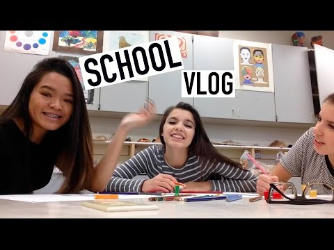 School Vlog, French Presentation, & Meet My Boyfriend 11/20/15