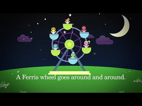 Around Song - Sight Word Song Music Video