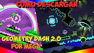 COMO DESCARGAR GEOMETRY DASH 2.0 PARA PC FULL 1 LINK POR MEGA | ULTIMA VERSION 2015 FULL CRACKEADA