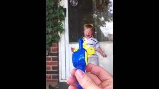 Sam vs bubble gun