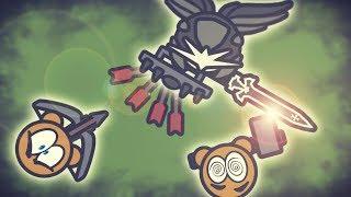 Moomoo.io - The black swordsman! New Texture Pack!
