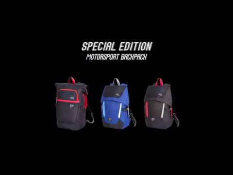 1662bf2879 AGS FX Creations Special Edition Motorsport Backpack for Formula E ...