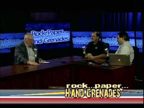 Rock, Paper, Hand Grenades (9/28/16) w/John Burt and Bob Backus