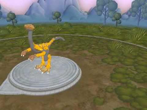Spore - Ornithomimus 3.