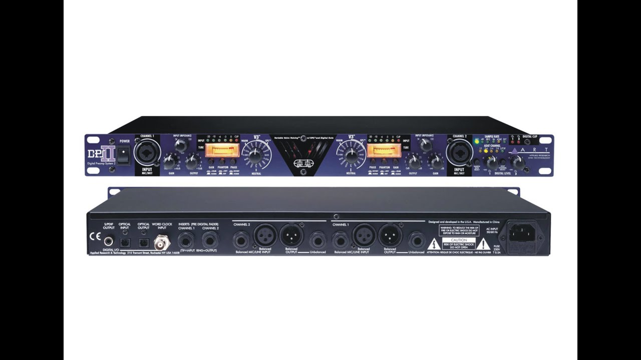 art dps ii microphone preamp review youtube. Black Bedroom Furniture Sets. Home Design Ideas