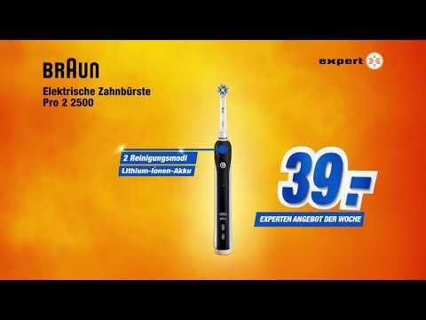 TV-Spot ORAL-B Pro 2 2500 für nur 39 Euro │ Angebot der Woche thumbnail