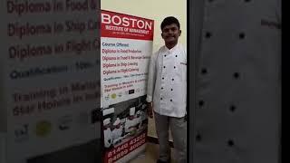 Boston Institute of Hotel Management   Catering College in Madurai