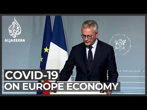Coronavirus crisis takes huge toll on Europe's economy