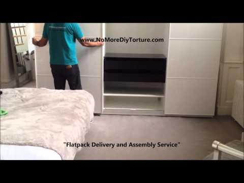 IKEA Pax Anstad 3 Sliding Doors Wardrobe