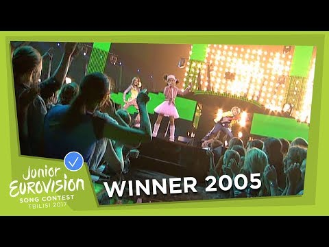 JUNIOR EUROVISION 2005 - KSENIA SITNIK - MY VMESTE - BELARUS 🇧🇾  - WINNER