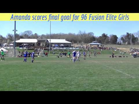 Final Goal Scored by 96 Fusion Elite