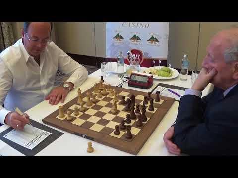 Oleg Skvortsov - GM Evgeny Sveshnikov, Rapid Chess, Sicilian 2.b3, Hotel Kempinski, GAME I