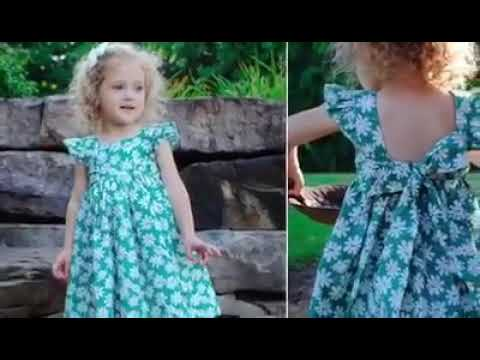 Michelle's Dress By CKC Patterns YouTube Adorable Ckc Patterns
