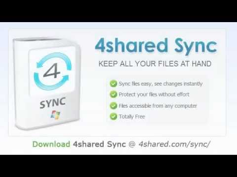4shared Sync - keep all your files at hand!