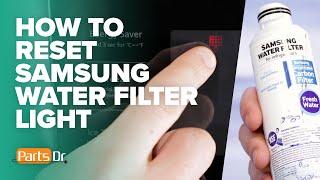 How to reset Samsung refrigera…