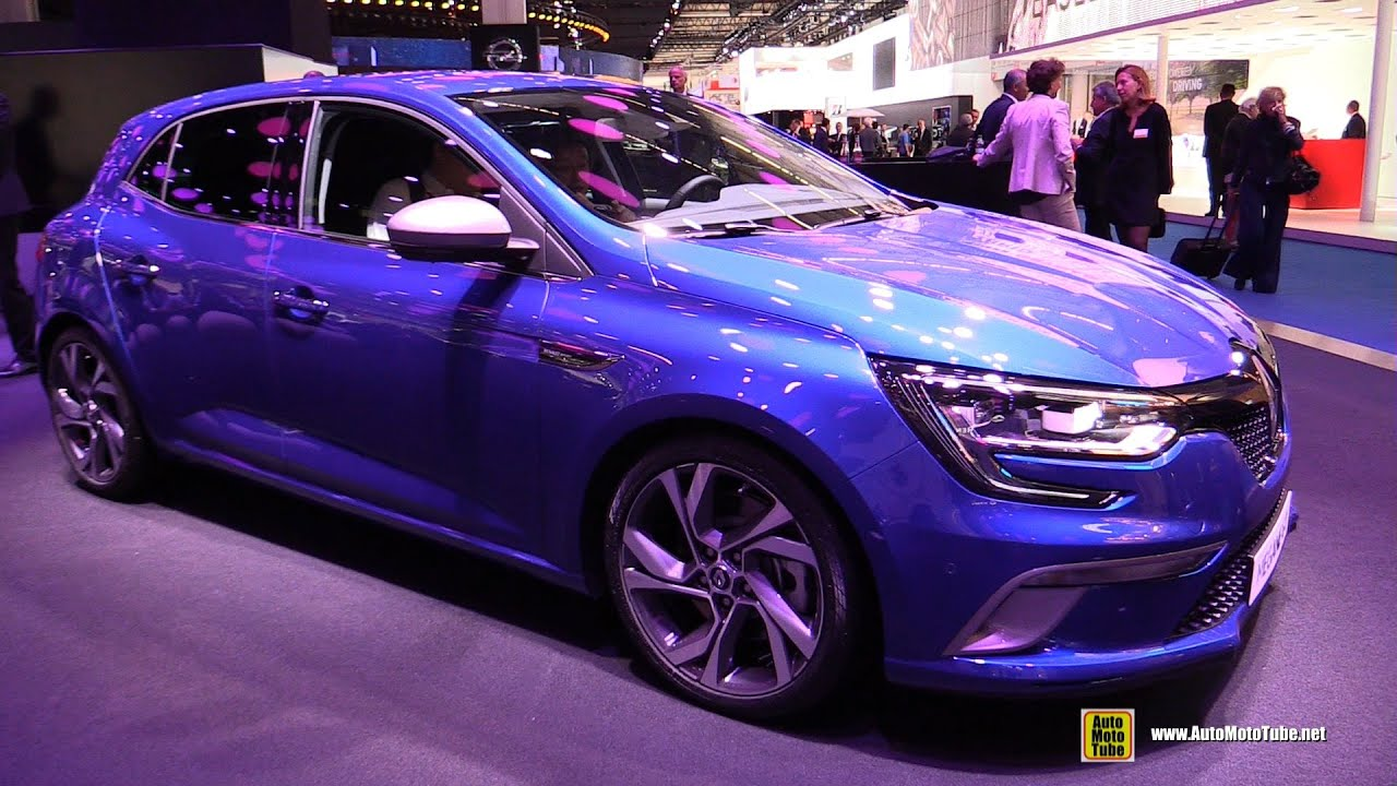 2016 renault megane gt sport exterior interior walkaround 2015 frankfurt motor show youtube. Black Bedroom Furniture Sets. Home Design Ideas