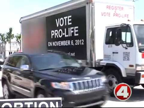 """Fox4: """"Images of aborted fetuses are placed near downtown Naples"""""""