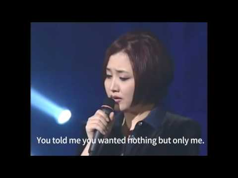 [KPOP with Eng sub] Please - Lee sora_20010224 /이소라-제발_이소라의 프로포즈