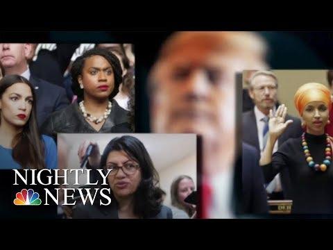 Trump Sharpens Attacks On The Squad    NBC Nightly News
