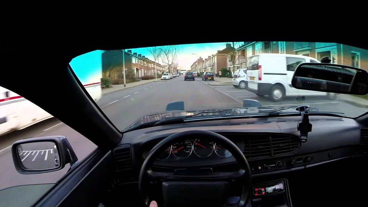 Porsche 944 S Driving - POV Test - GoPro